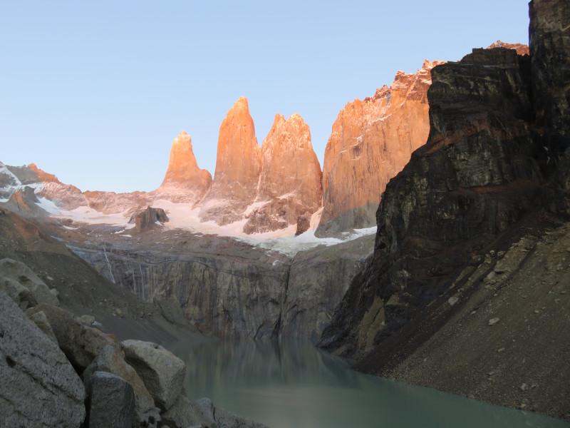 Sonnenaufgang Torres del Paine
