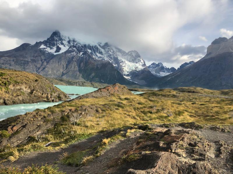 Torres del Paine Startpunkt des W-Trek