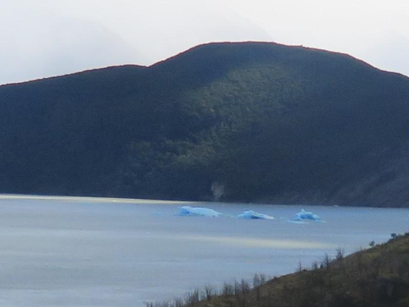 Gletschersee im Torres del Paine Nationalpark
