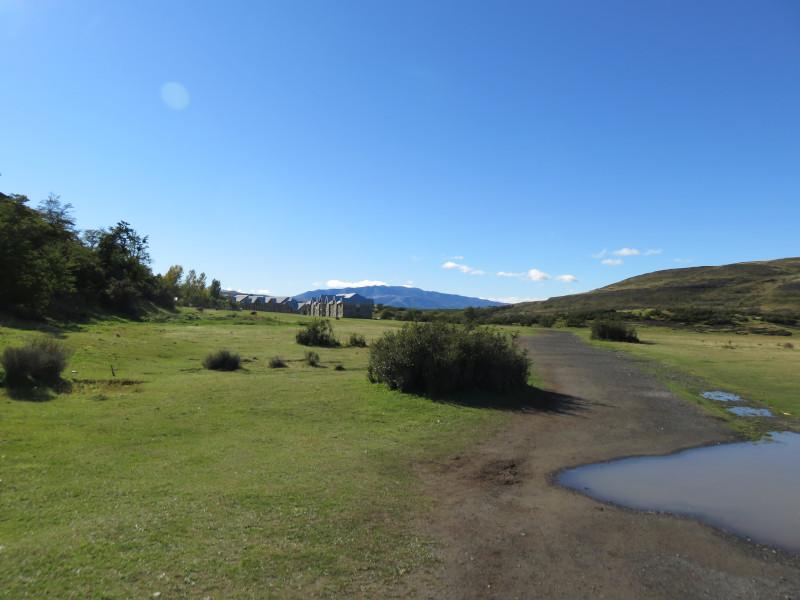 Ankunft am Hotel Las Torres im Torres del Paine Nationalpark